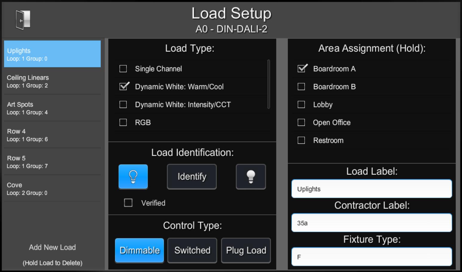 Load Hardware | ShowRunner | Crestron Programming